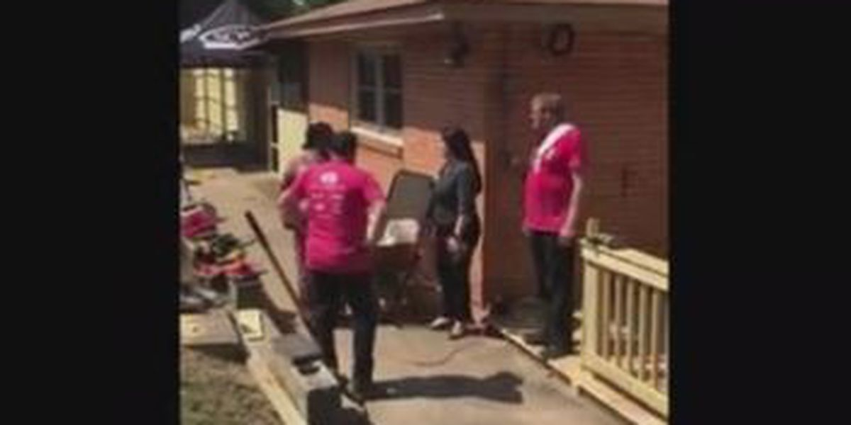 Phenix City woman gets surprise from House of Heroes