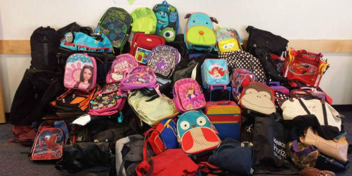 Columbus church partners with ATL organization to collect suitcases for foster kids