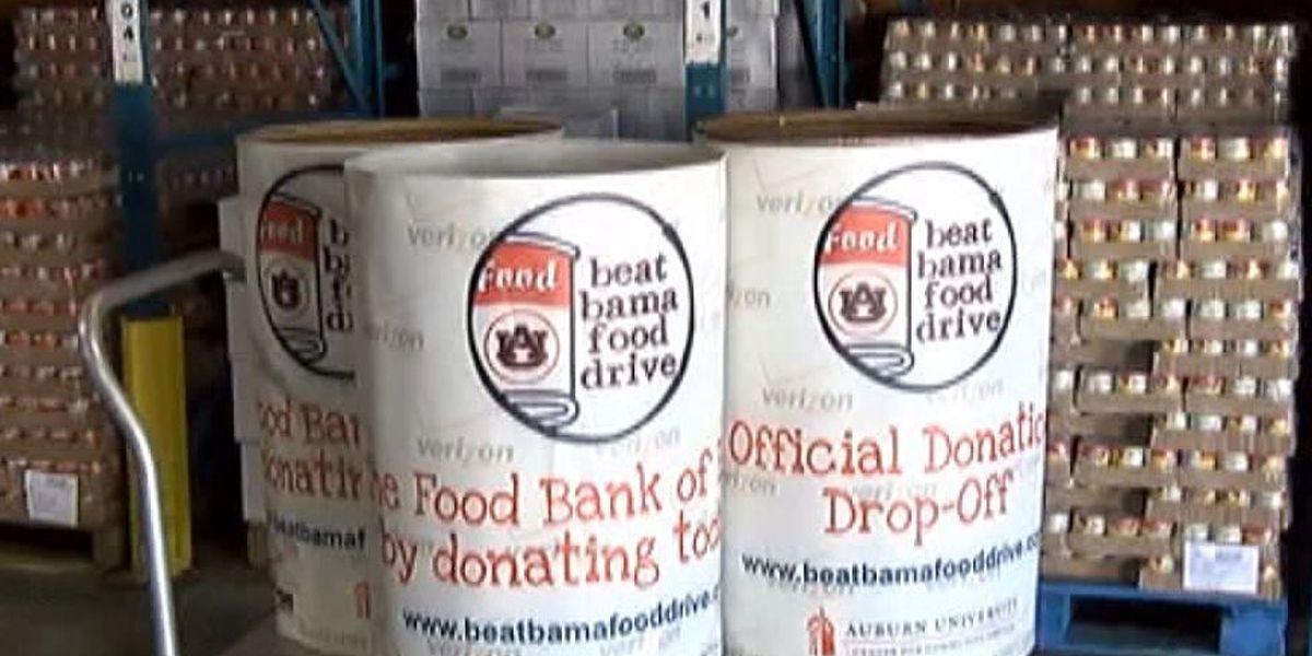 Beat Bama Food Drive underway Monday