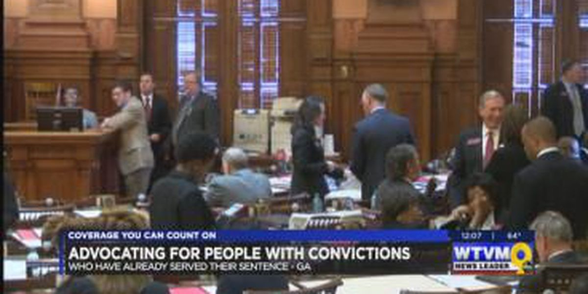 Columbus advocates ride 'bus to justice' to talk to lawmakers about criminal justice reform