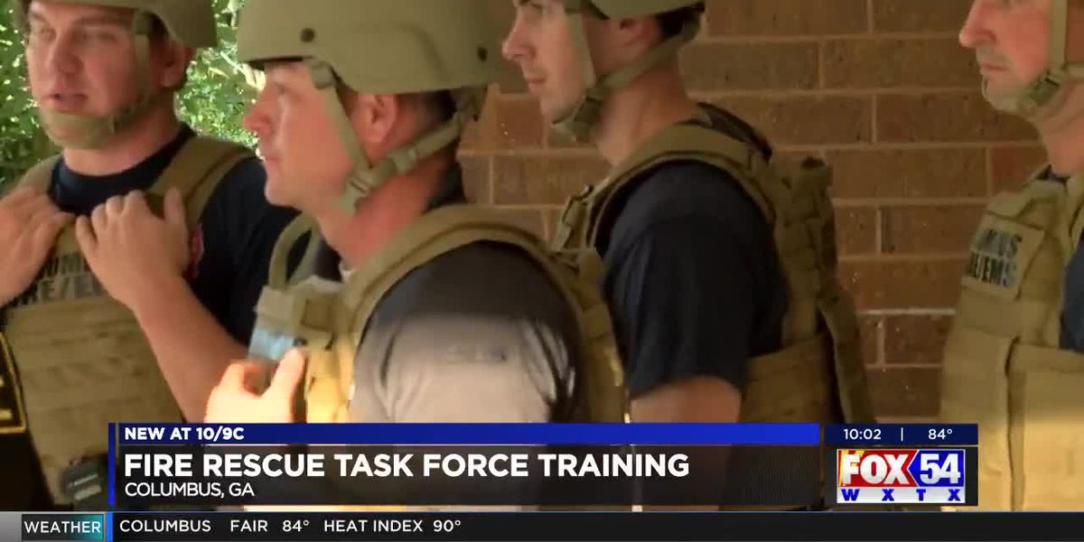 First responders in Columbus start training for new rescue task force