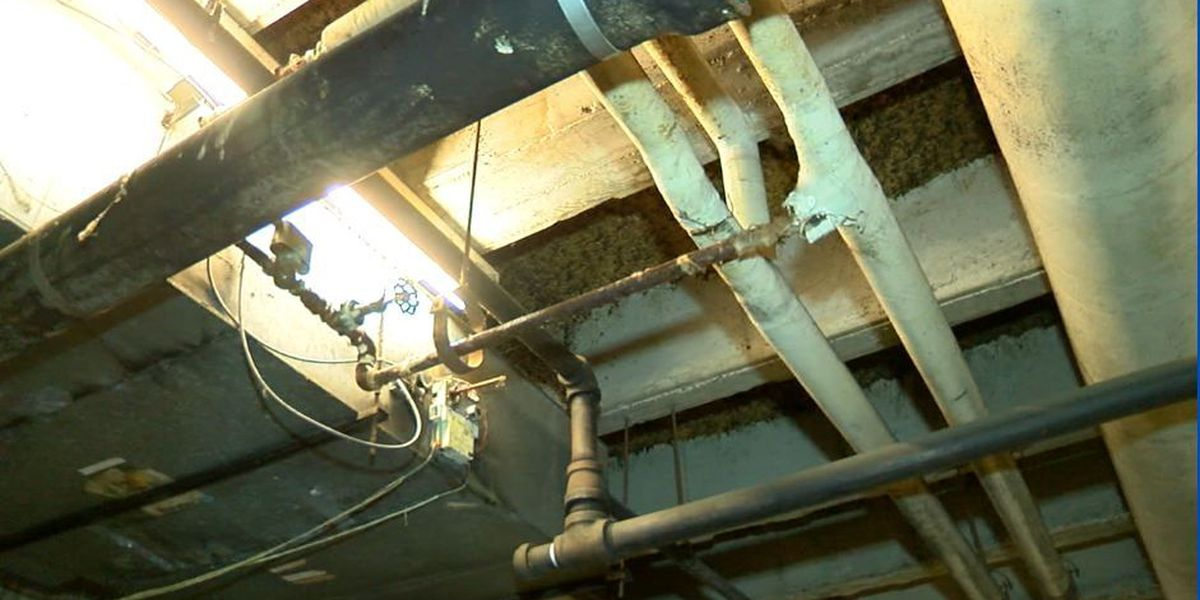 Pipes repaired at the Columbus Government Center