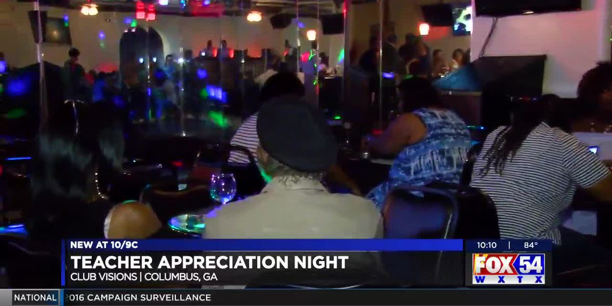 Club Visions in Columbus hosts appreciation party for area teachers