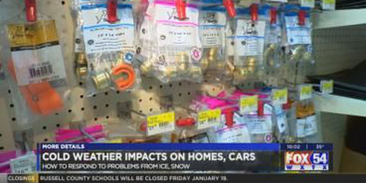 Winter storm aftermath leaves homes, vehicles damaged