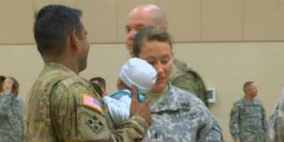 Ceremony welcomes Ft. Benning soldiers returning from Afghanistan deployment