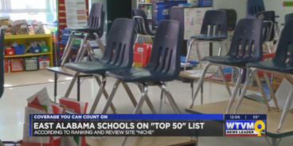 Auburn, Opelika City Schools listed as top 50 best AL school districts