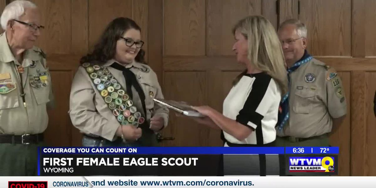 Power of Goodwill: Wyoming's first female Eagle Scout