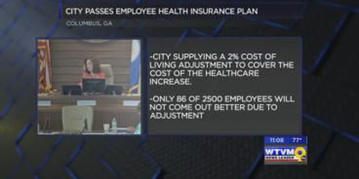Columbus Council passes city employee health insurance plan 6-2