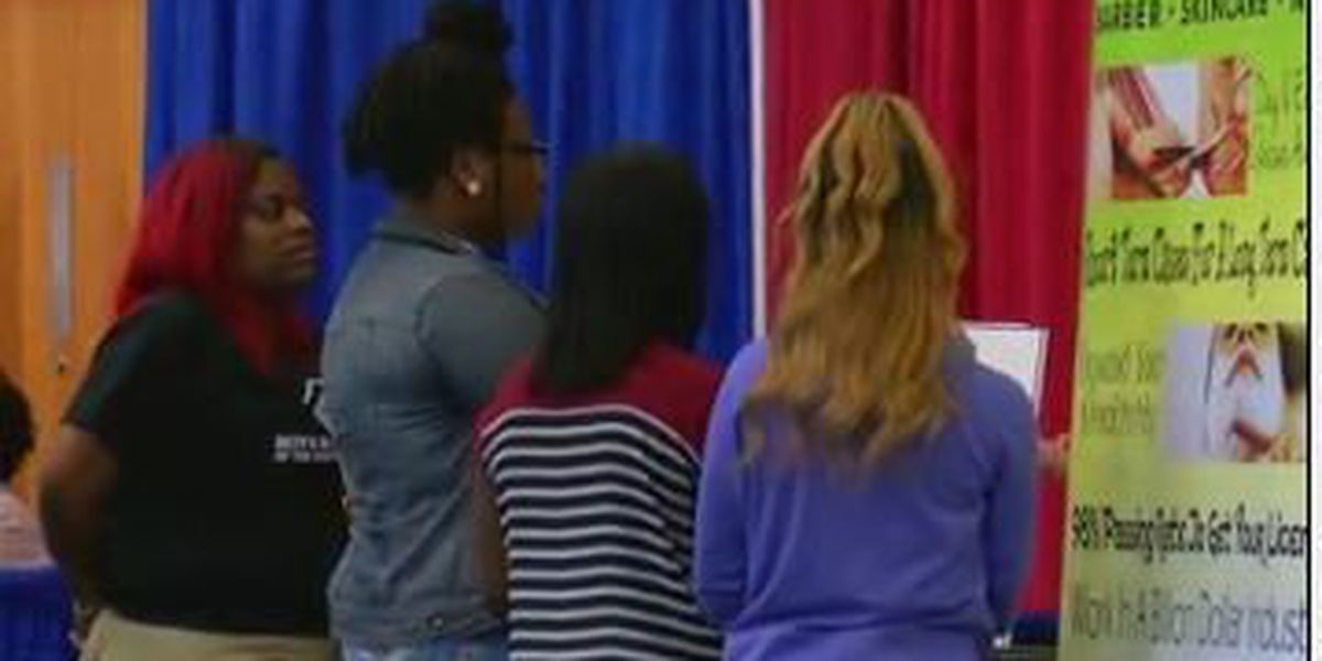 Nearly 100 students, at-risk youth attend career fair in Columbus