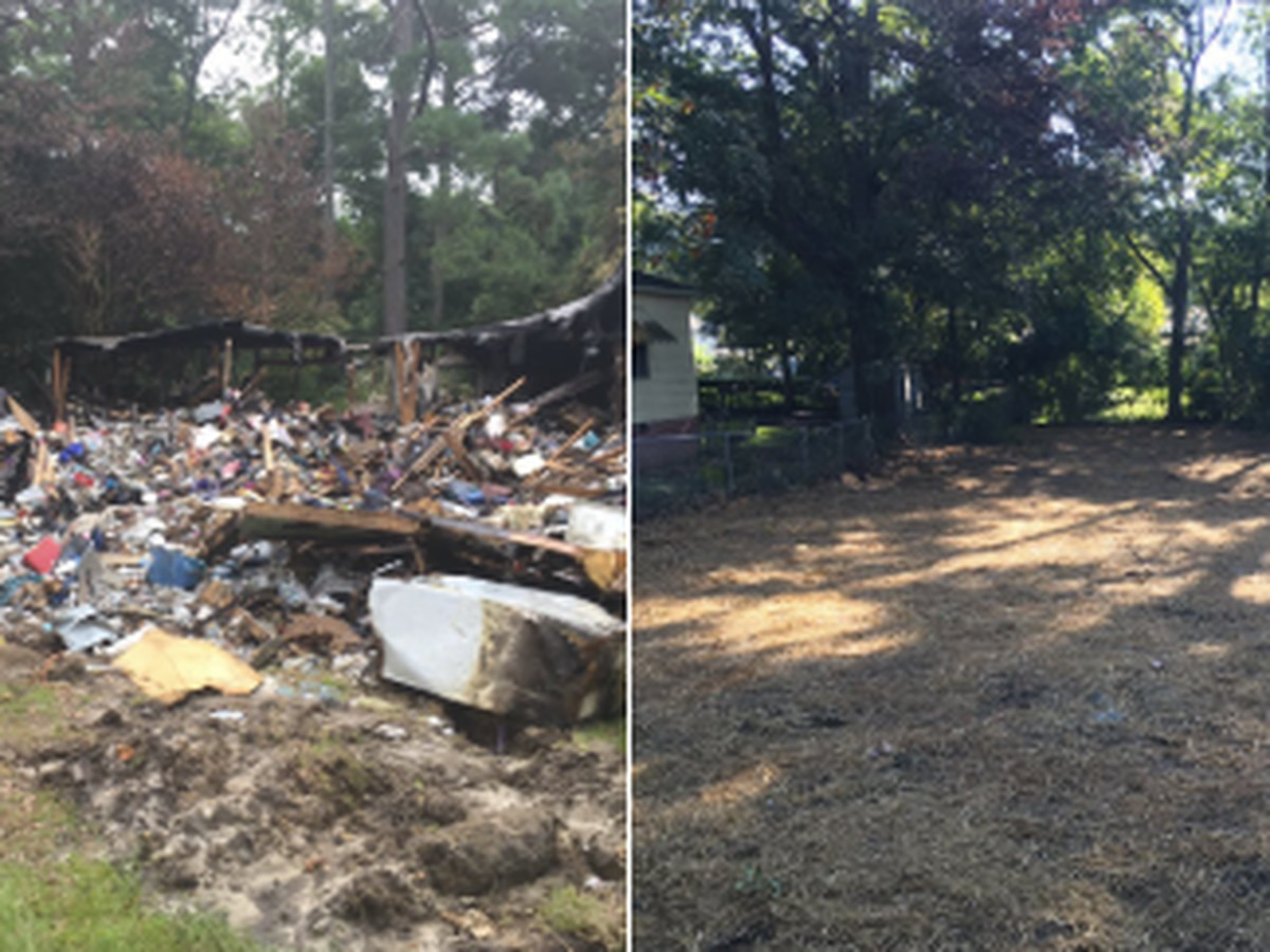 City of Columbus removes waste from 'eyesore' home on 15th Ave.