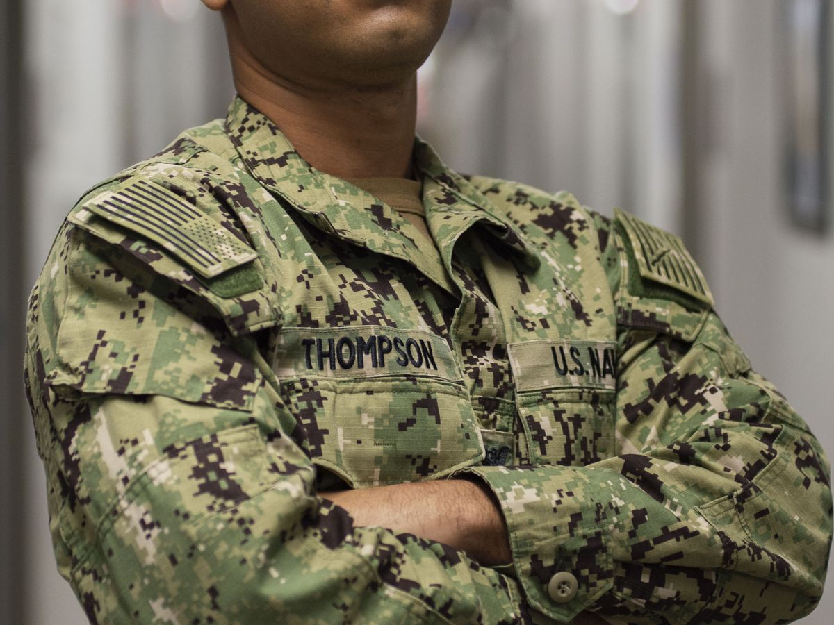 Columbus native keeping the Navy wing flying with his service
