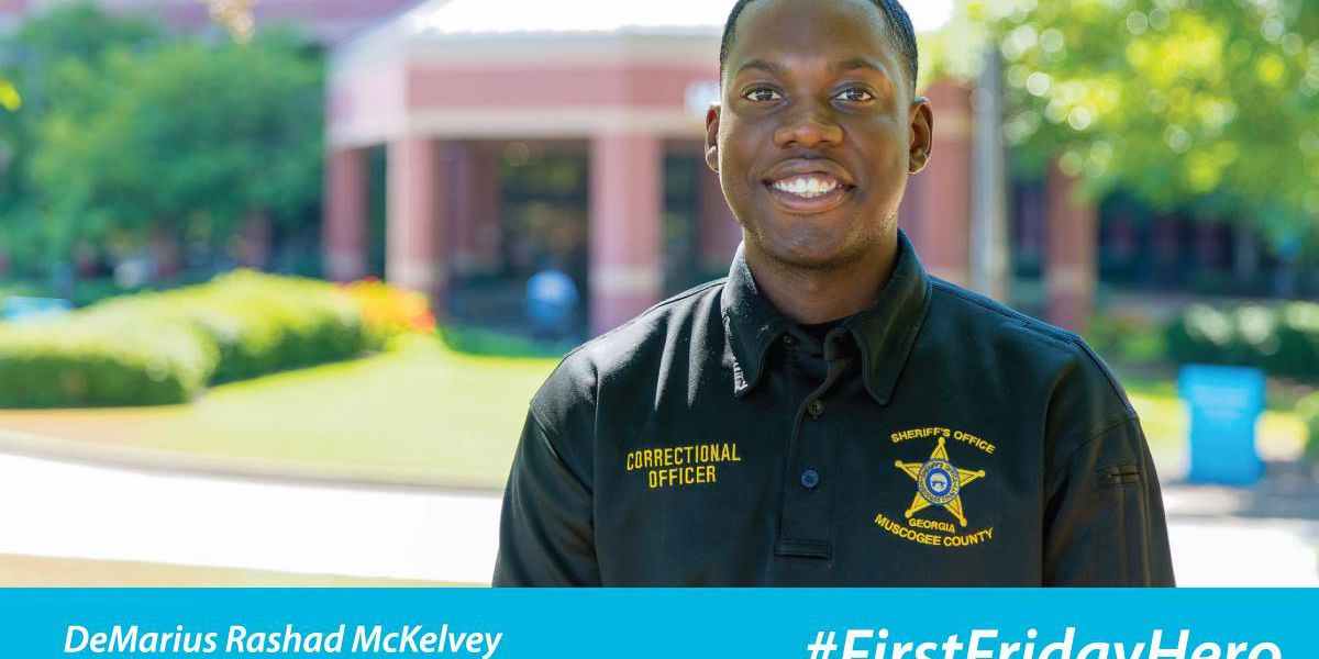 Muscogee Co. Corrections officer named First Friday Hero for saving inmate's life