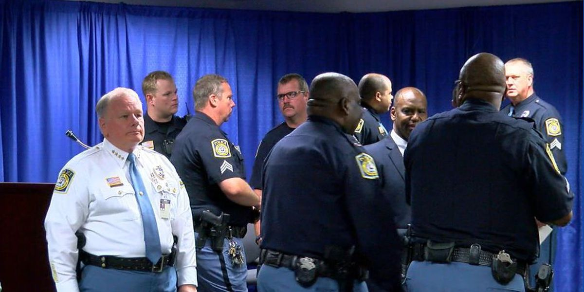 Columbus Police Department ceremony honors employees