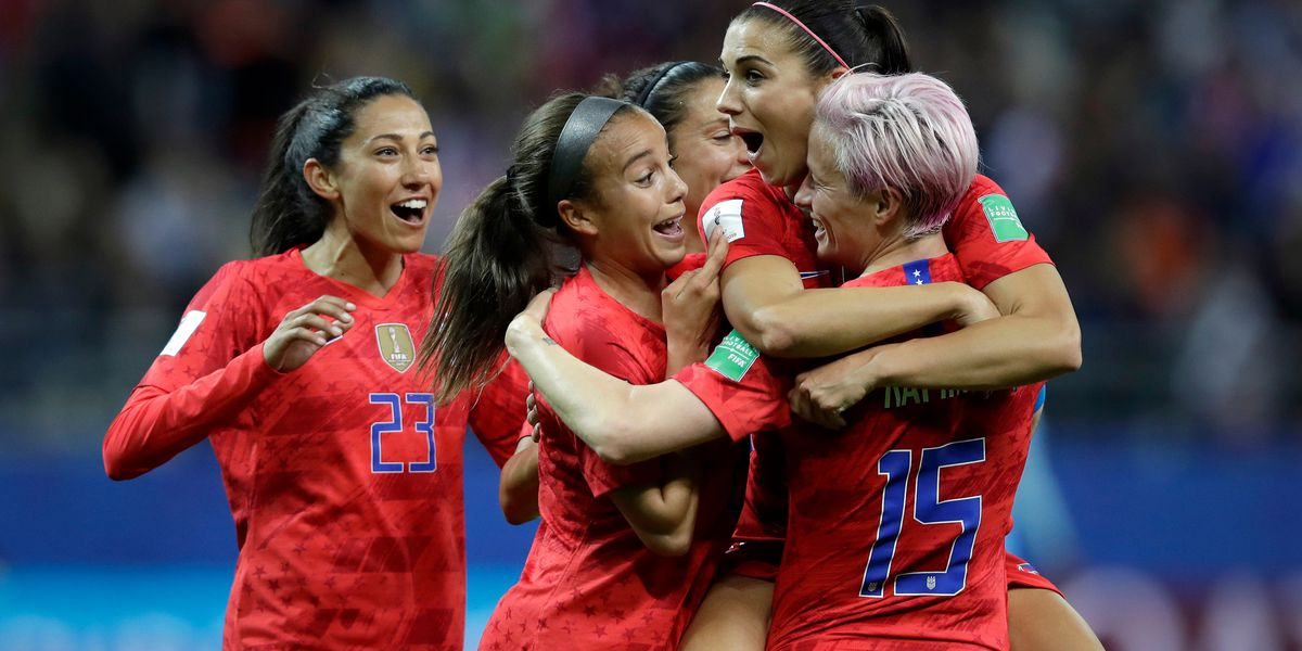 Morgan has 5 goals as US routs Thailand 13-0
