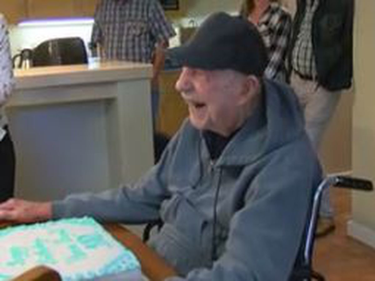Former commercial fisherman, World War II veteran celebrates 102nd birthday