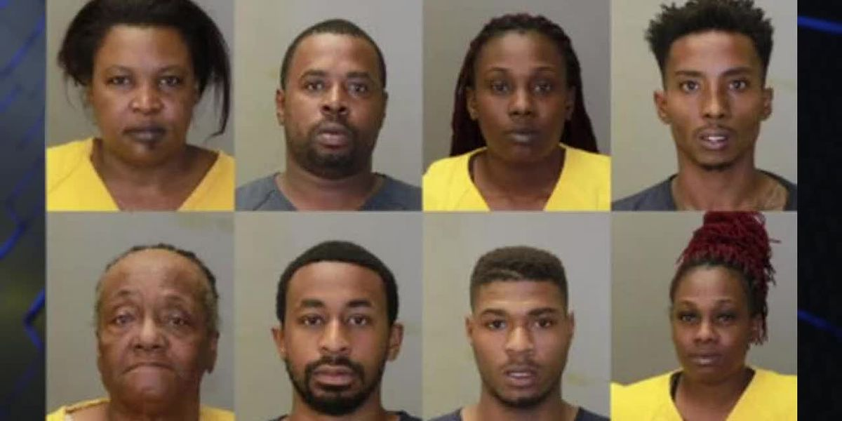 8 arrested following narcotics investigation on Cusseta Rd.