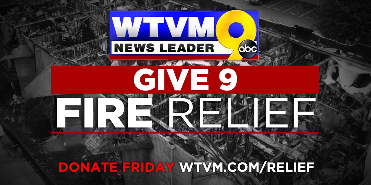WTVM Give 9 Fire Relief raises over $6K for victims displaced by fire in Columbus