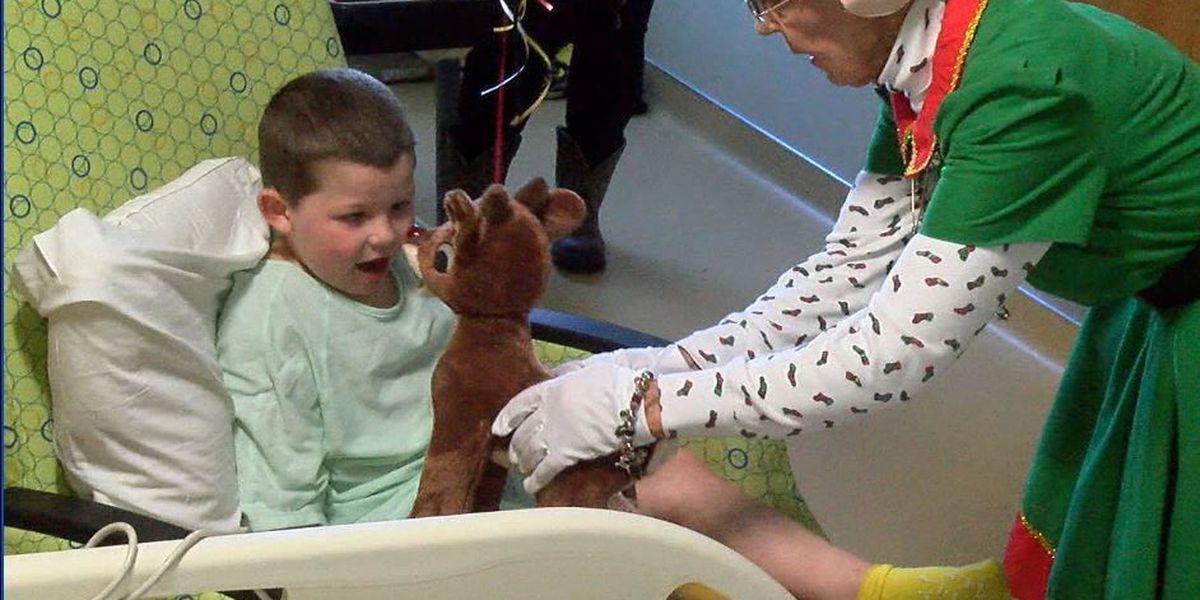 Woman donates Christmas toys to sick children in Columbus hospital