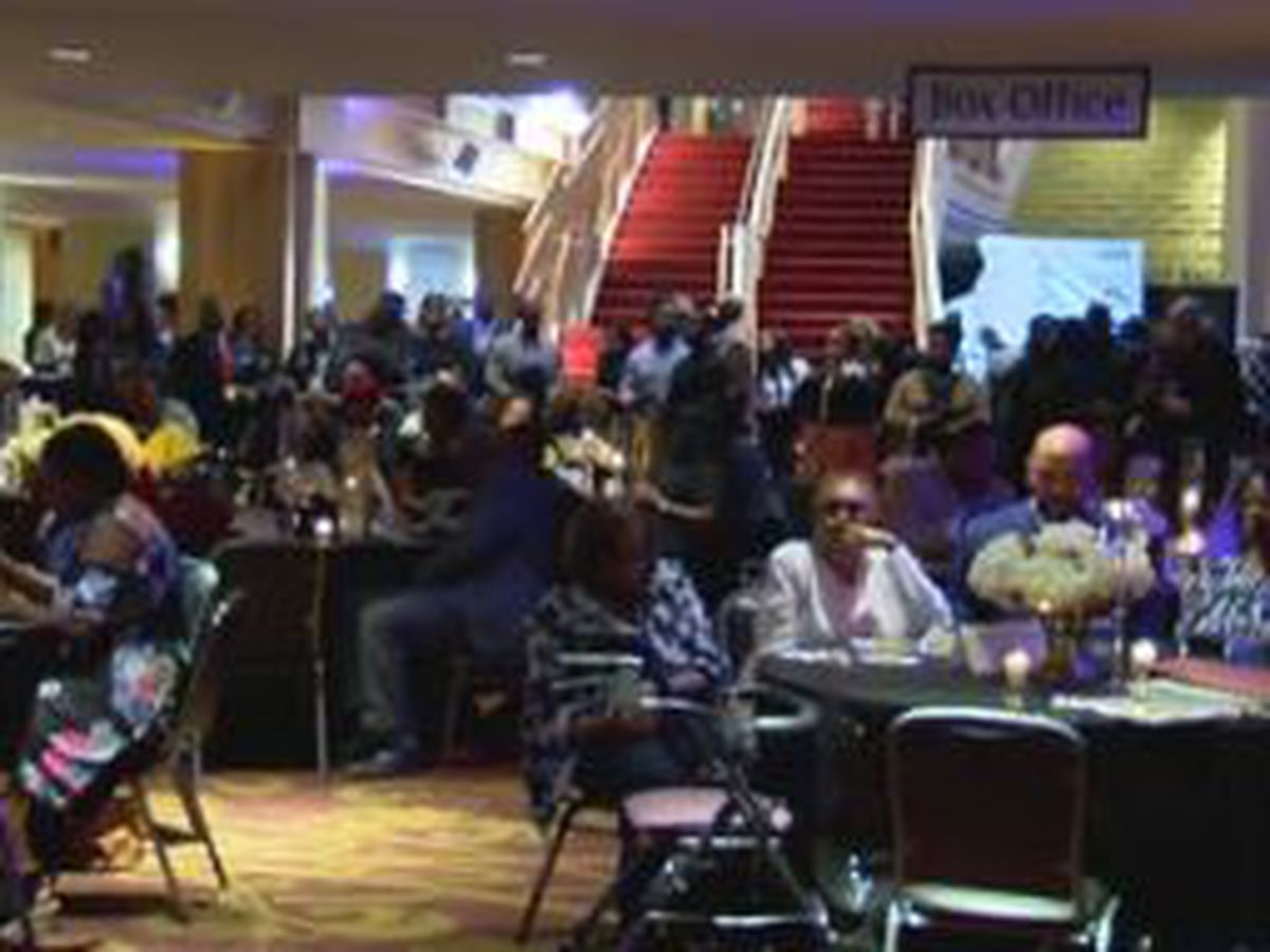 Hundreds turn out for 12th annual Cufflinks & Pearls Networking Mixer in Columbus