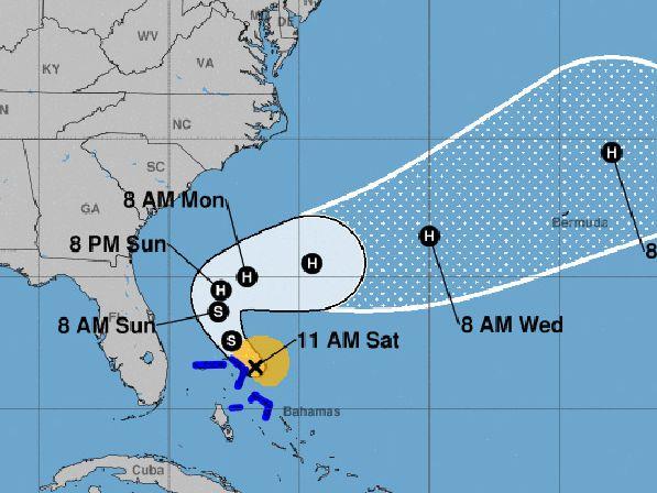 Still reeling from Dorian, Bahamas hit by tropical storm