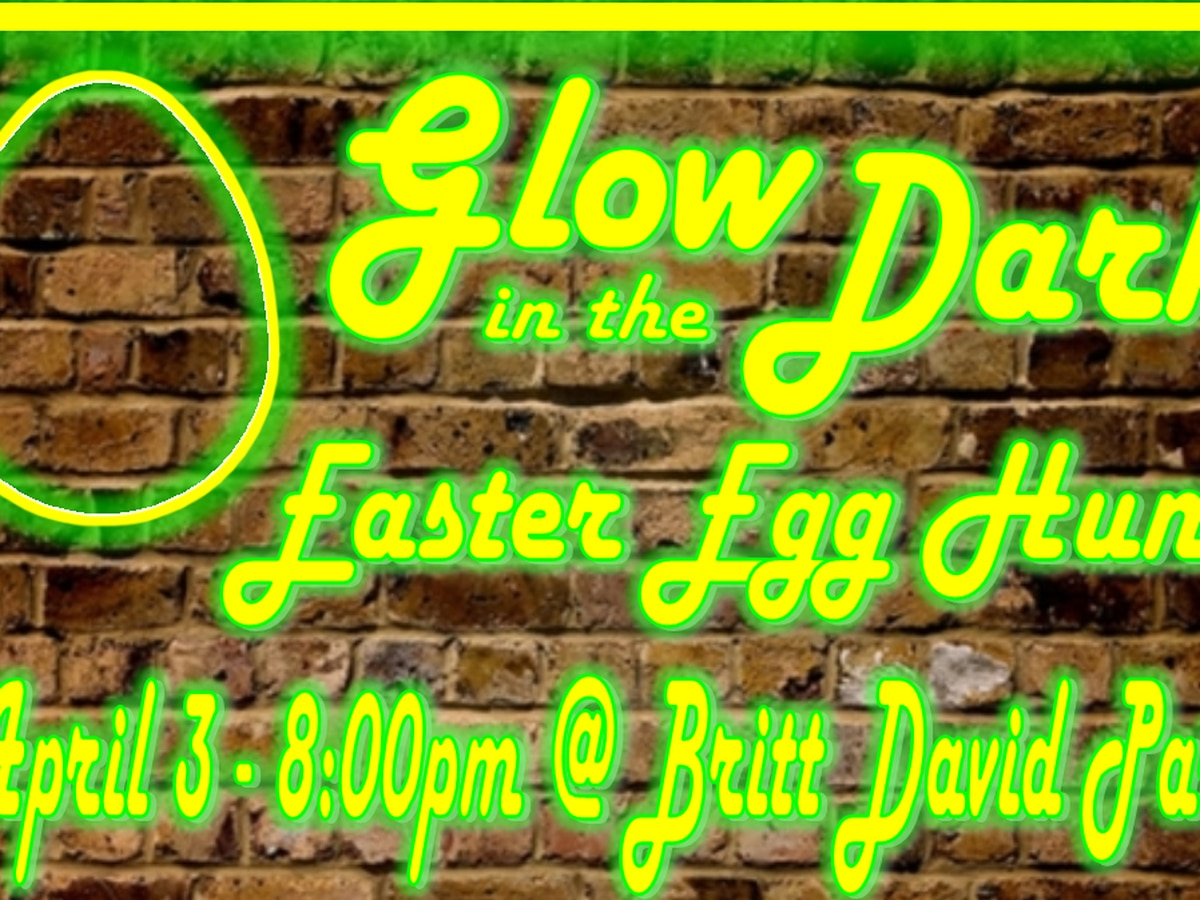 Columbus church holding Glow-in-the-Dark Easter Egg Hunt