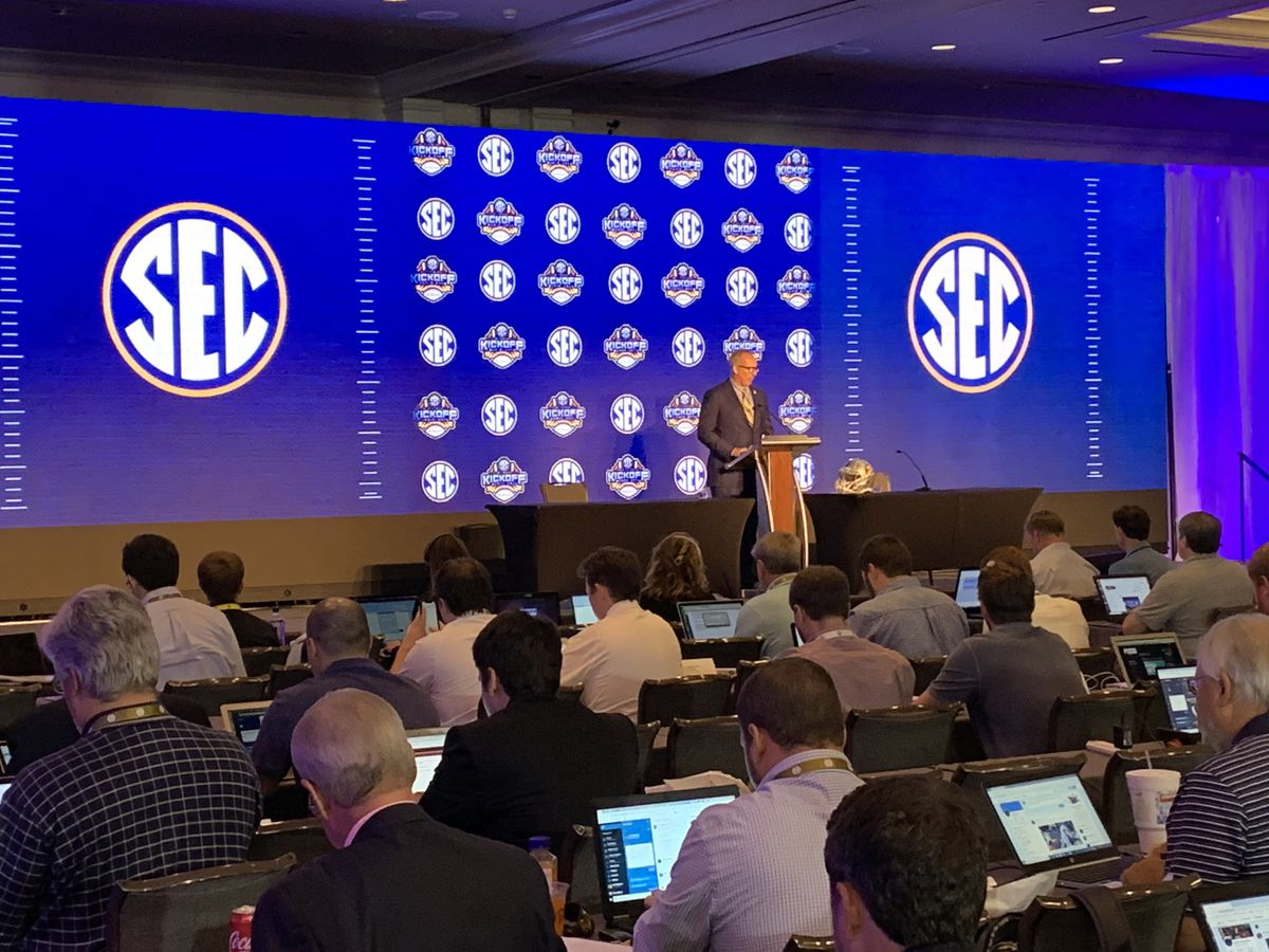 Schedule announced for 2021 SEC Media Days event