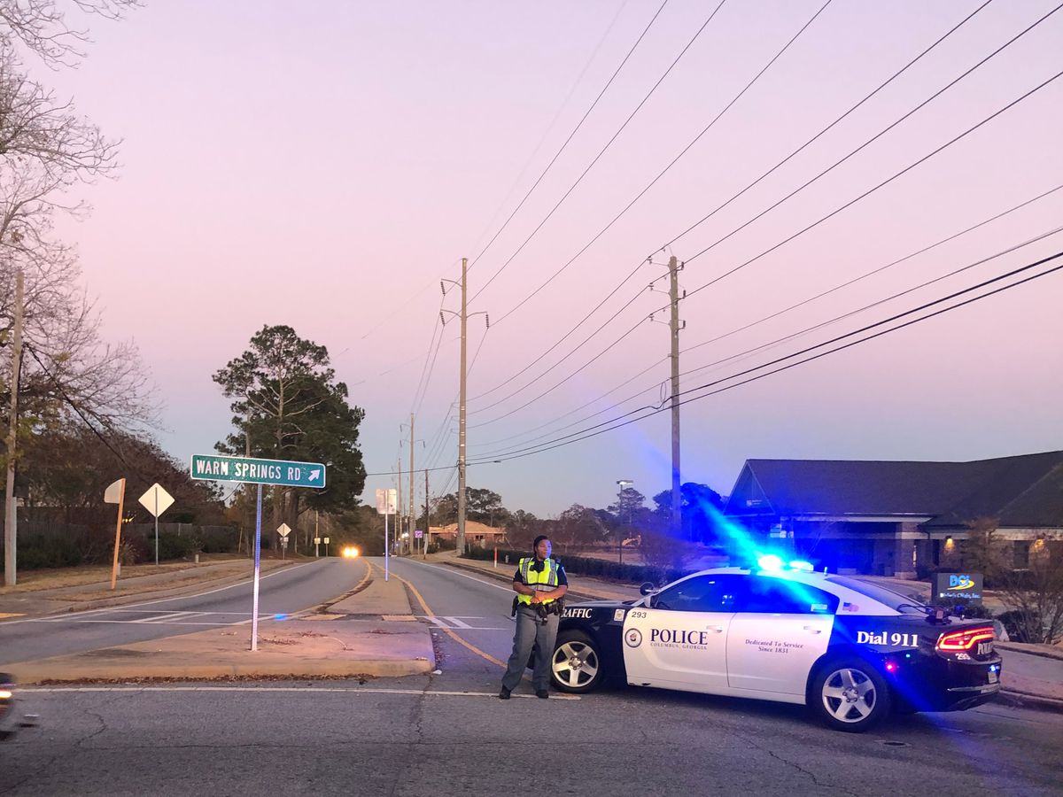 Warm Springs Rd. clear in Columbus after vehicle accident