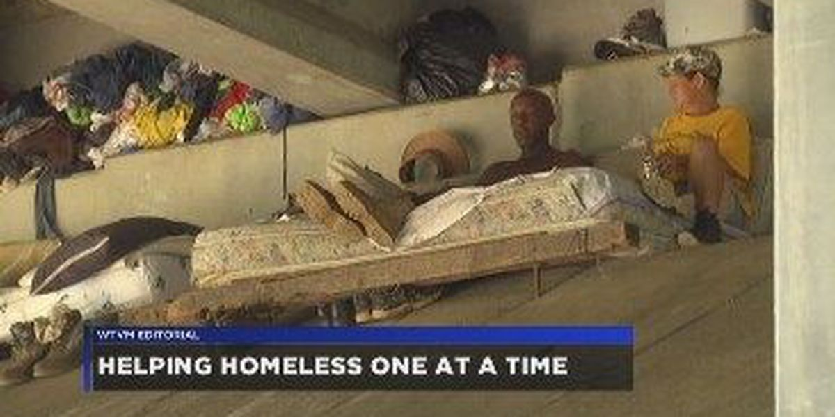 WTVM Editorial 1/30/18: Helping homeless one at a time