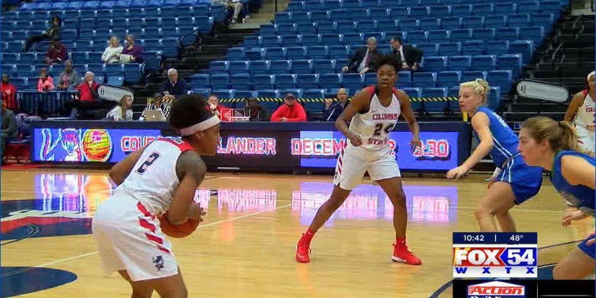 CSU Lady Cougars basketball wins season opener