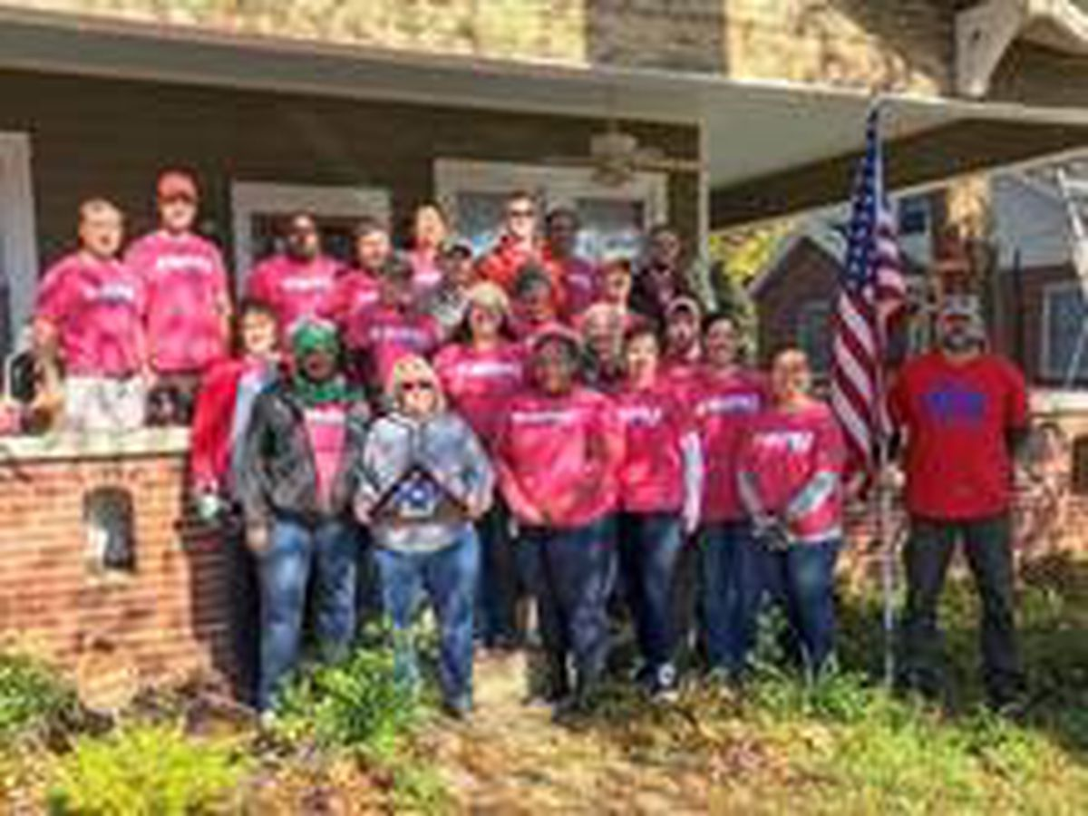 House of Heroes completes 1,000th home repair