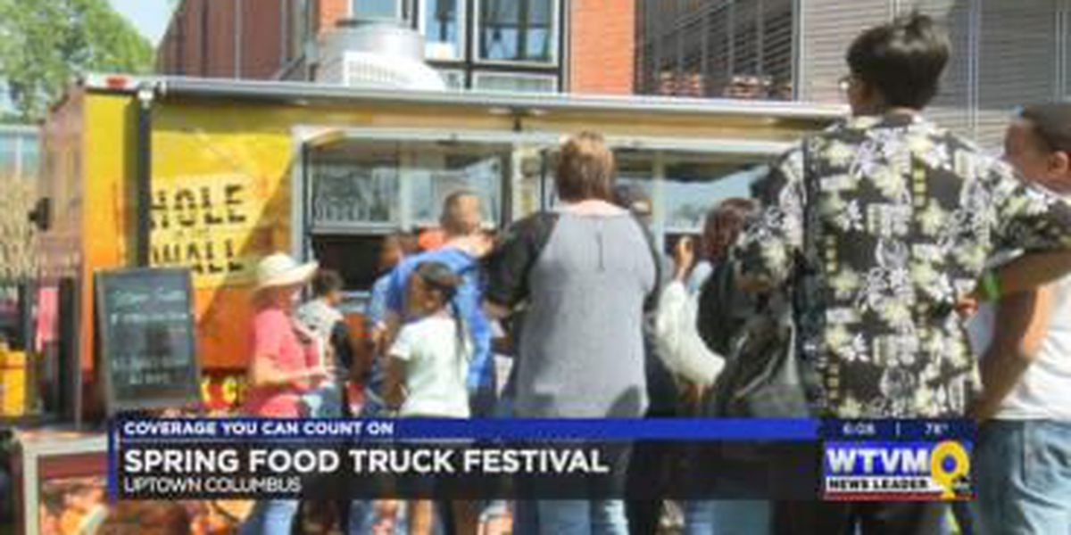 Uptown Columbus hosts Food Truck Festival