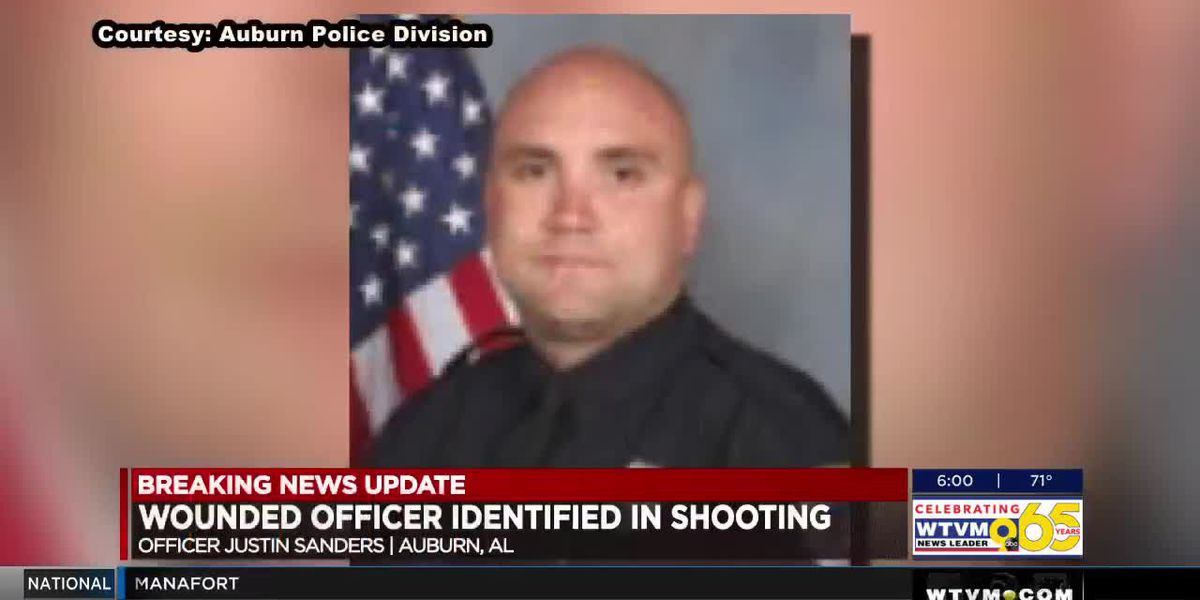 Auburn Police releases identity of officer shot during traffic stop of robbery suspect