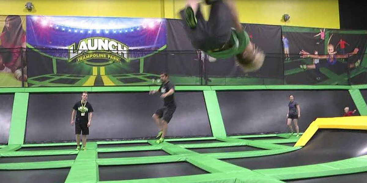 Launch Trampoline Park now officially open