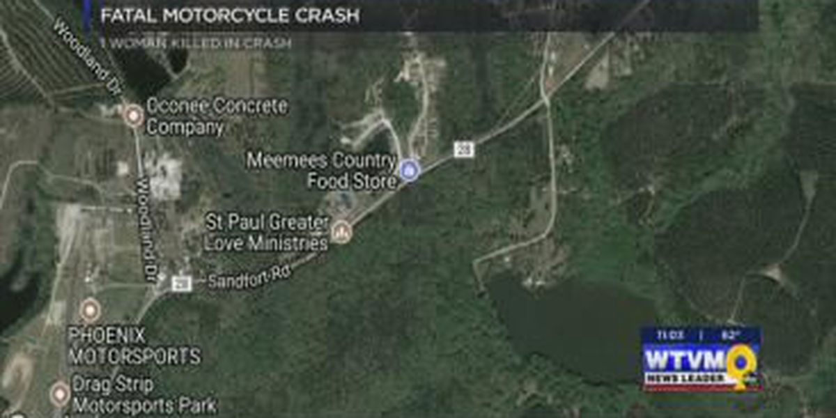 Female motorcyclist identified in Russell County crash