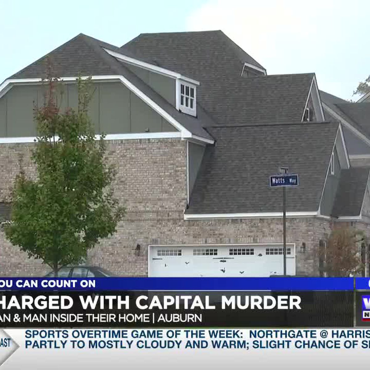 UPDATE: Man charged with capital murder after stabbing Auburn man, woman inside their home
