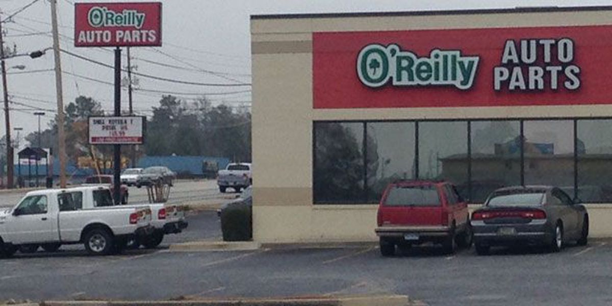 Alleged armed robbery at Buena Vista Rd. O'Reilly Auto Parts Saturday