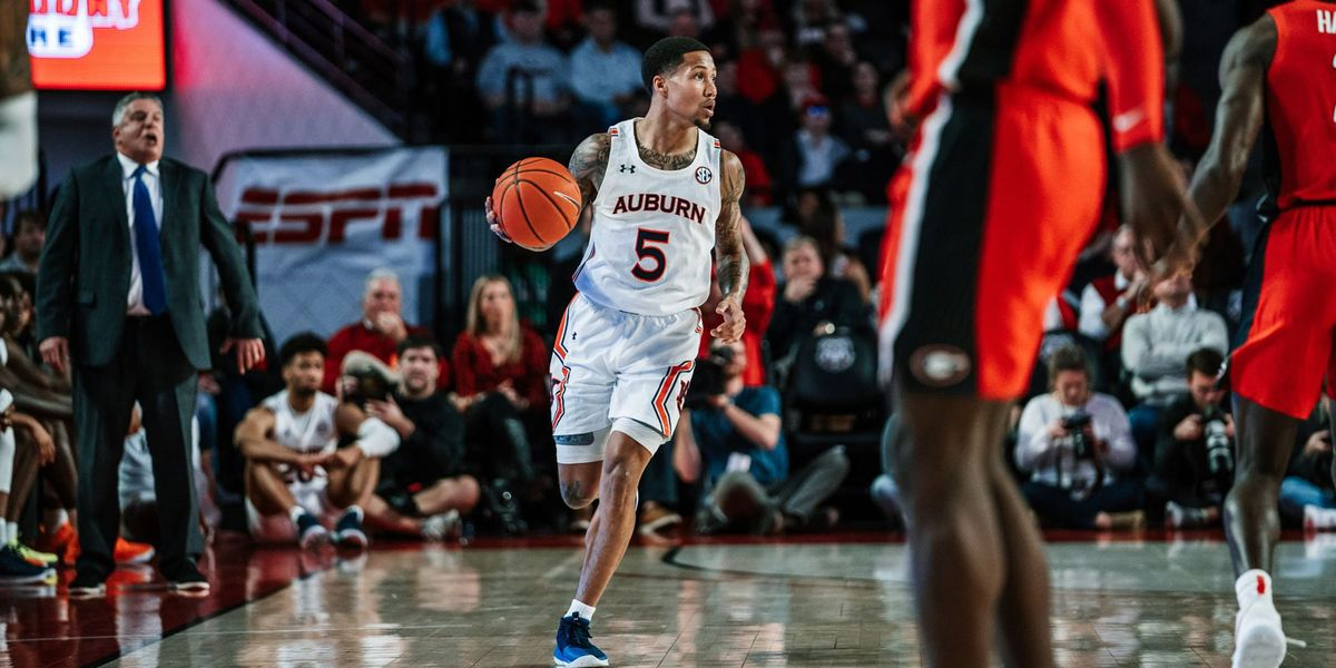 Shooting woes continue in midweek loss for No. 13 Auburn