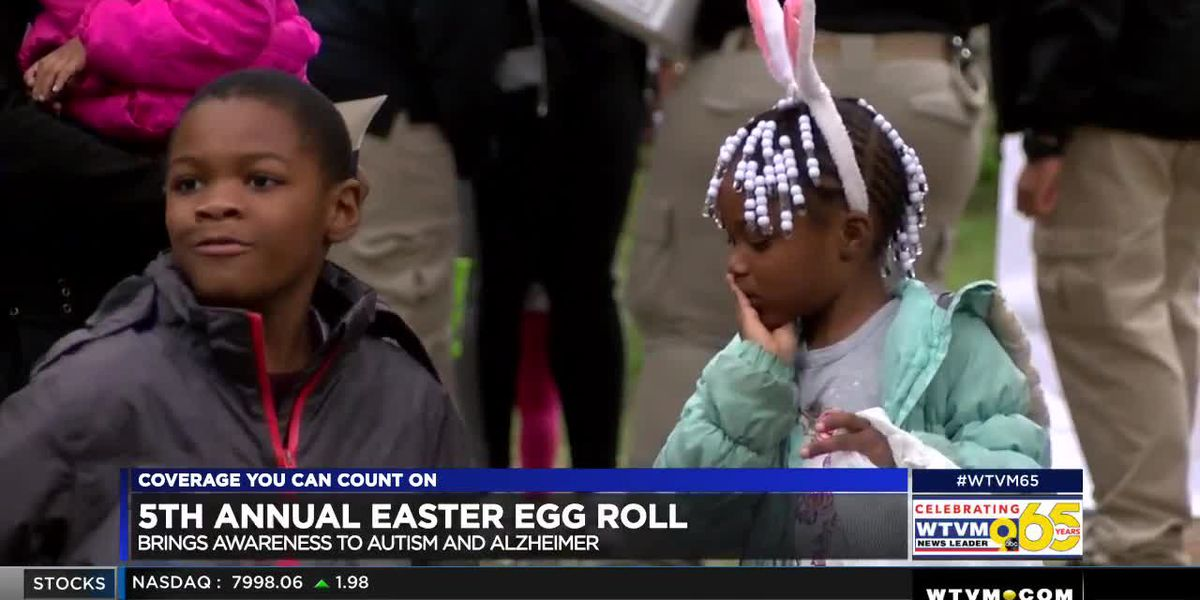 Muscogee County Sheriff's Office hosts 5th annual Easter Egg Roll