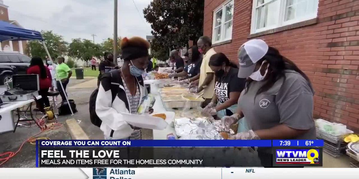 "Three Columbus ministries come together to ""Feel the Love"" for homeless community"