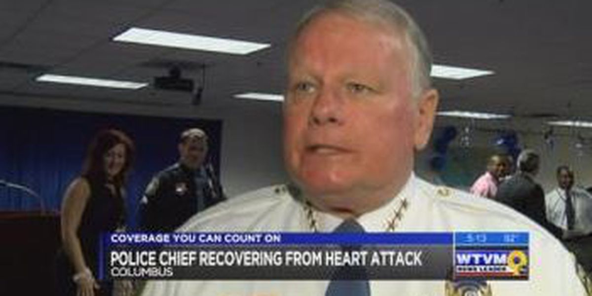 UPDATE: Doctor anticipates full recovery for Columbus Police Chief