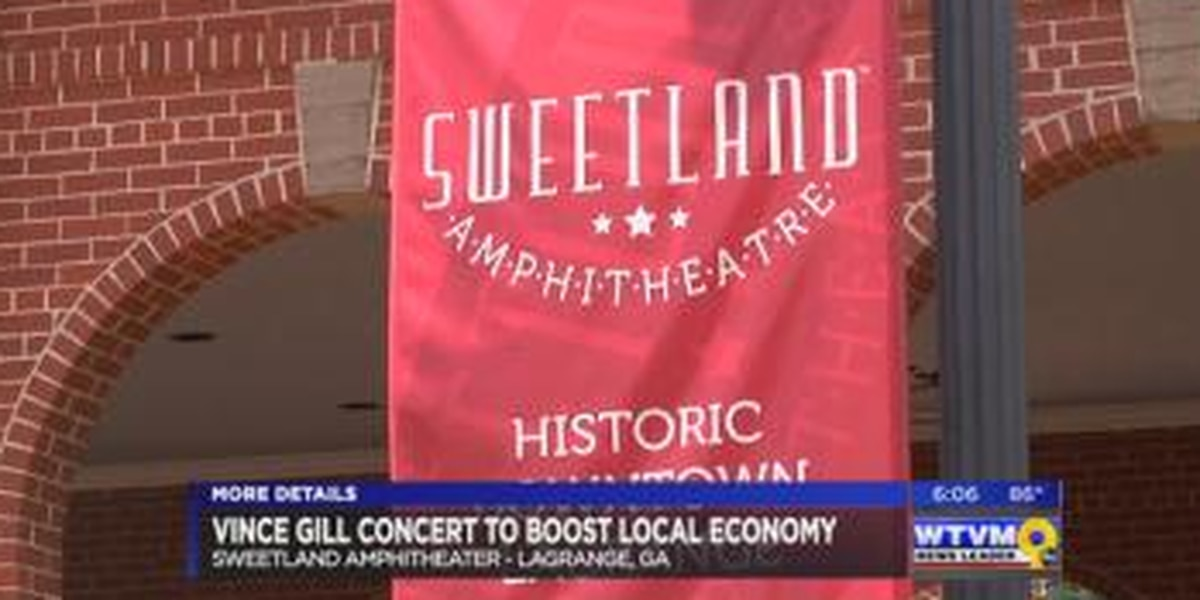 Vince Gill sell-out in LaGrange to boost local economy
