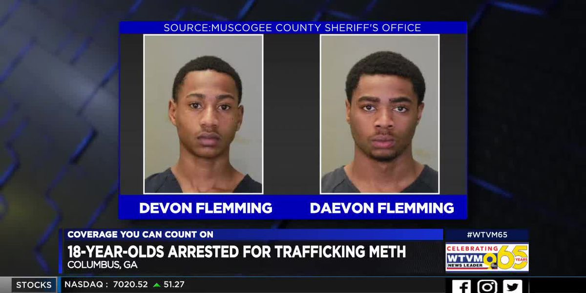 Columbus teens arrested, charged with trafficking meth