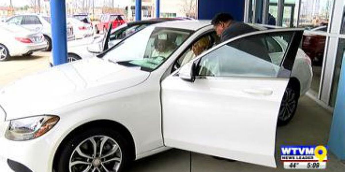 Columbus woman wins Mercedes Benz in raffle