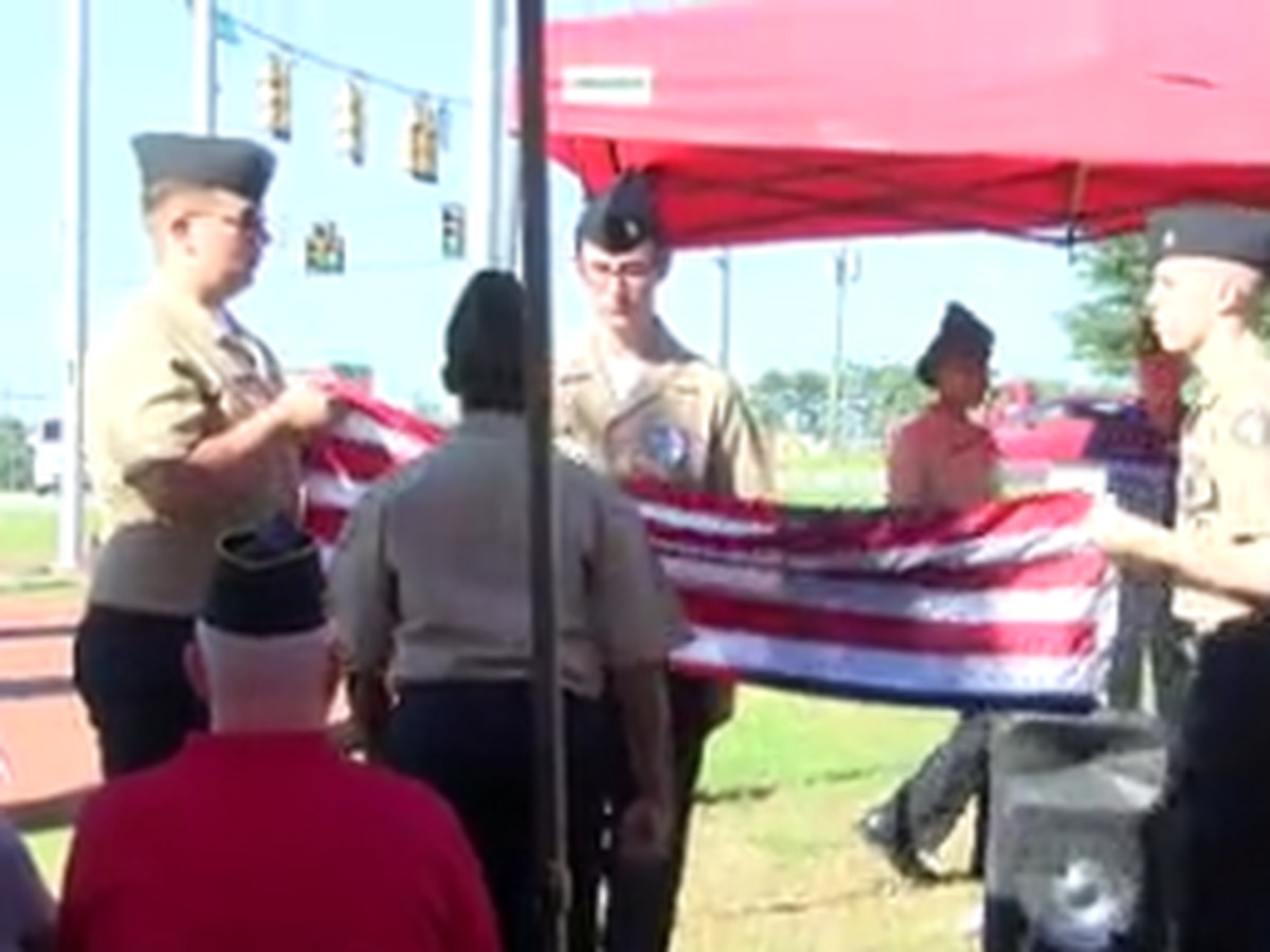 American Post 135 hosts annual Flag Day ceremony in Phenix City