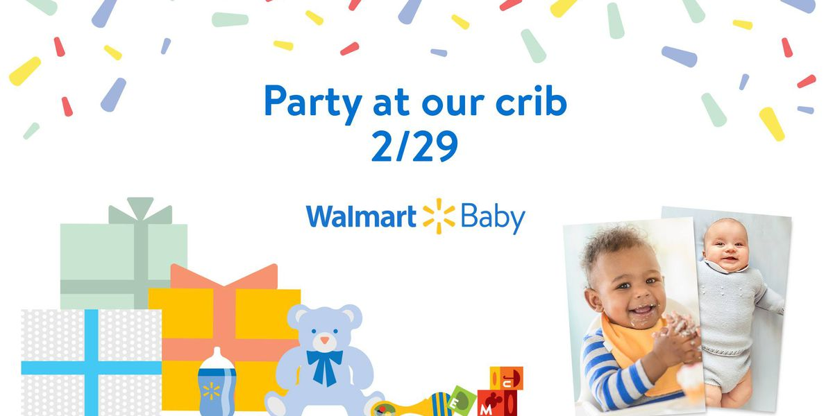 Walmart on Whittlesey Blvd. in Columbus celebrating Best of Baby Month