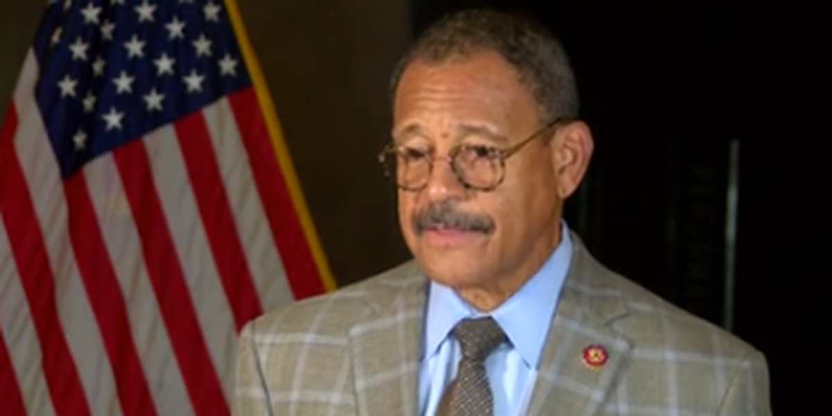 Congressman Sanford Bishop reacts to his experience during Capitol chaos