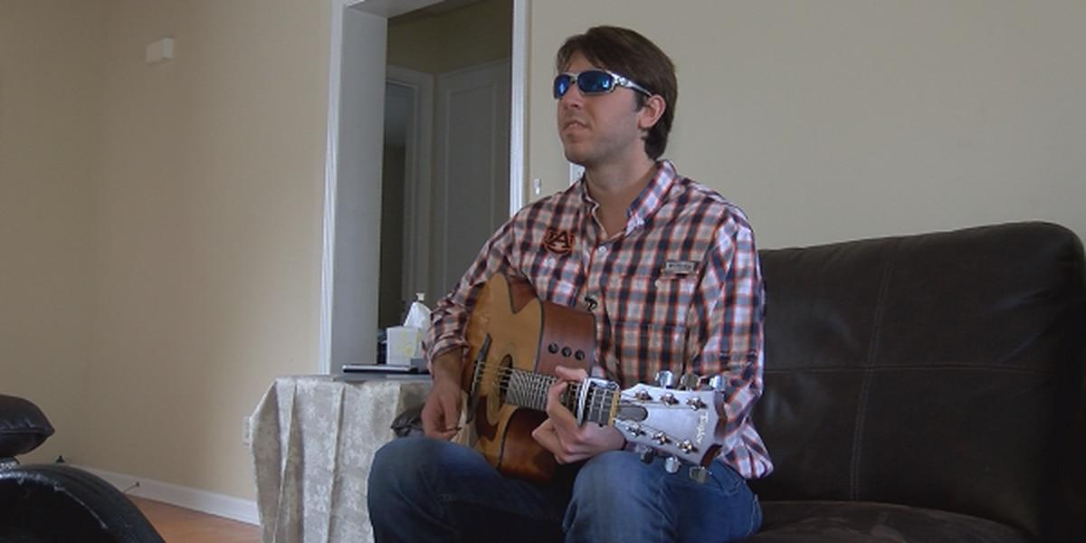 Auburn student overcomes rare eye condition, makes music