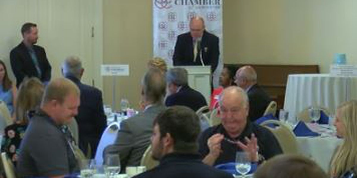 Opelika Chamber of Commerce treats first responders to breakfast