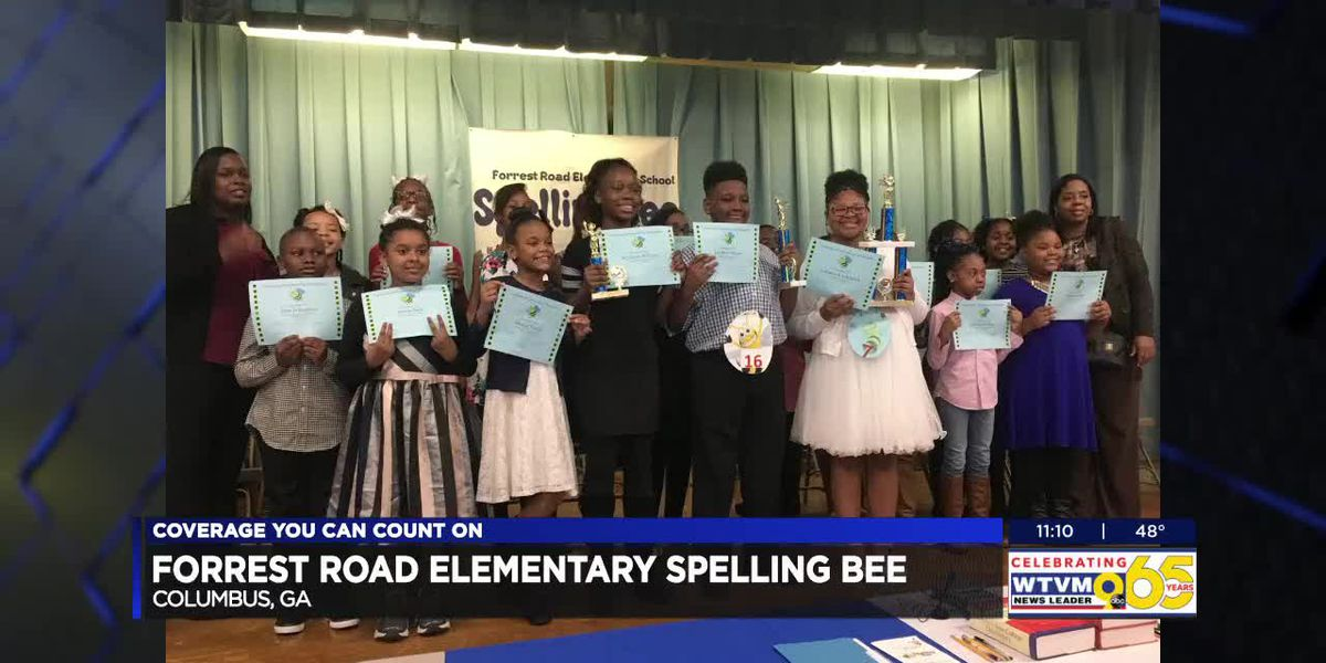 Forrest Road Elementary in Columbus names spelling bee winner and runner up