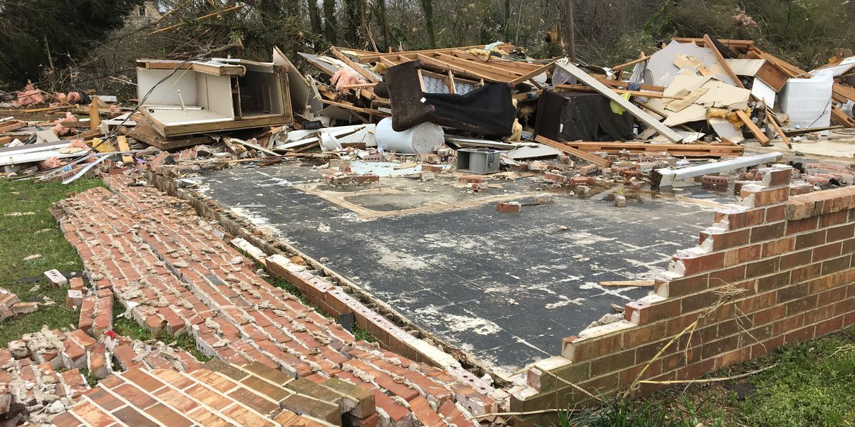 Talbot County, GA suffers extensive damage following tornado; state of emergency issued